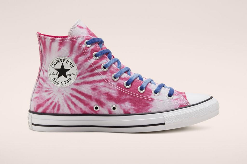 tie-dye converse, chuck taylor 70s, high tops
