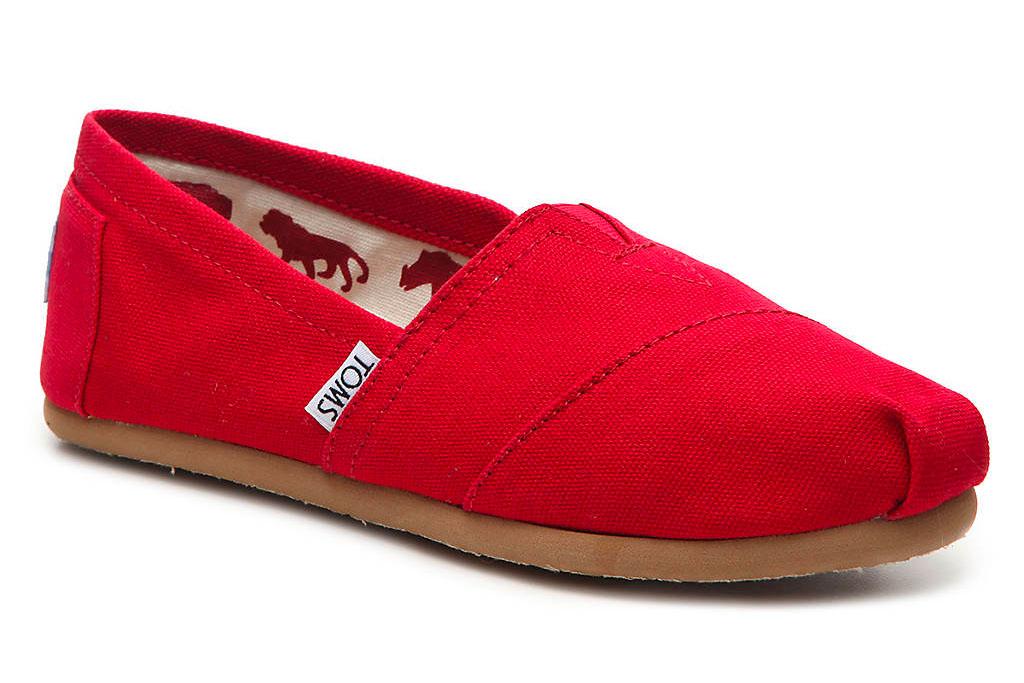 toms, slip on, sneaker, shoe, sale, dsw