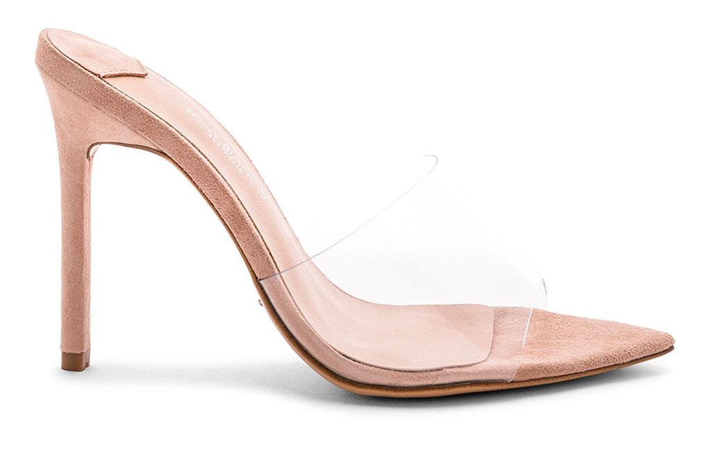 tony bianco, clear, heels