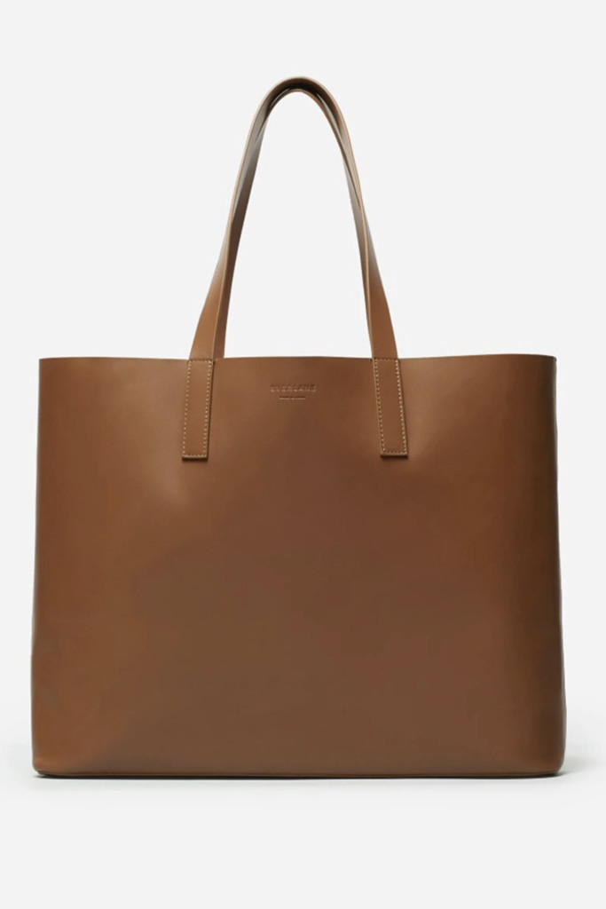everlane tote bag, best tote bags, leather tote bag