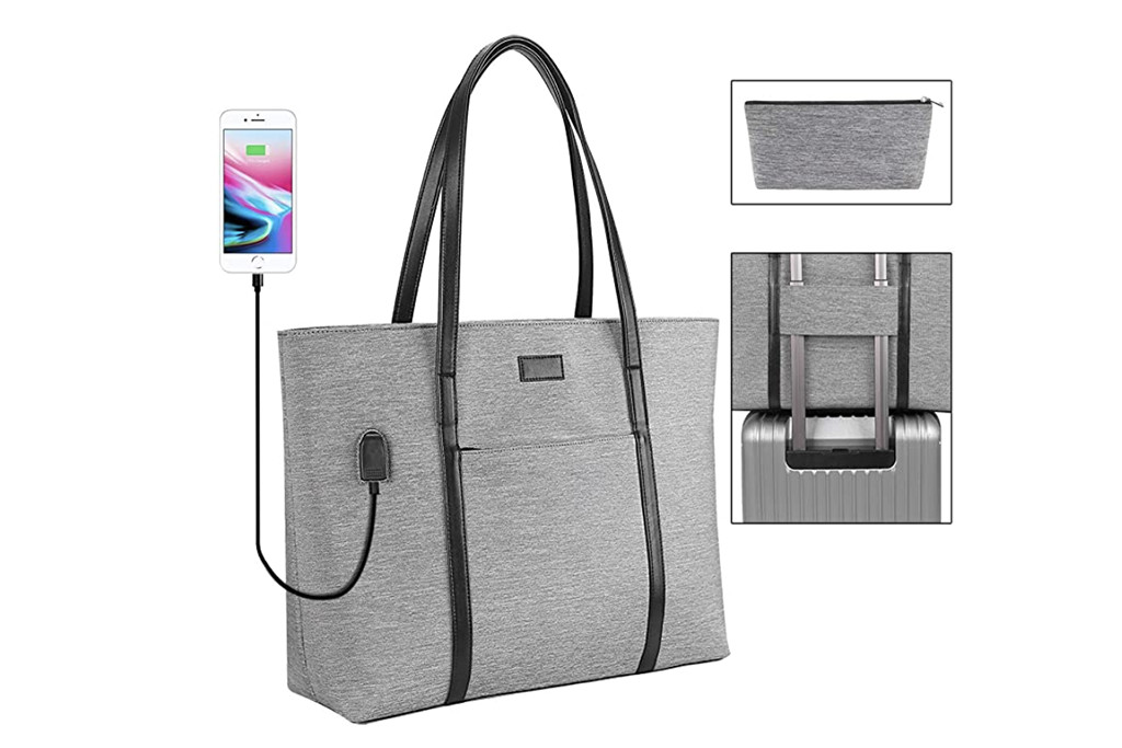 amazon tote bag, usb charger tote bag, best tote bags