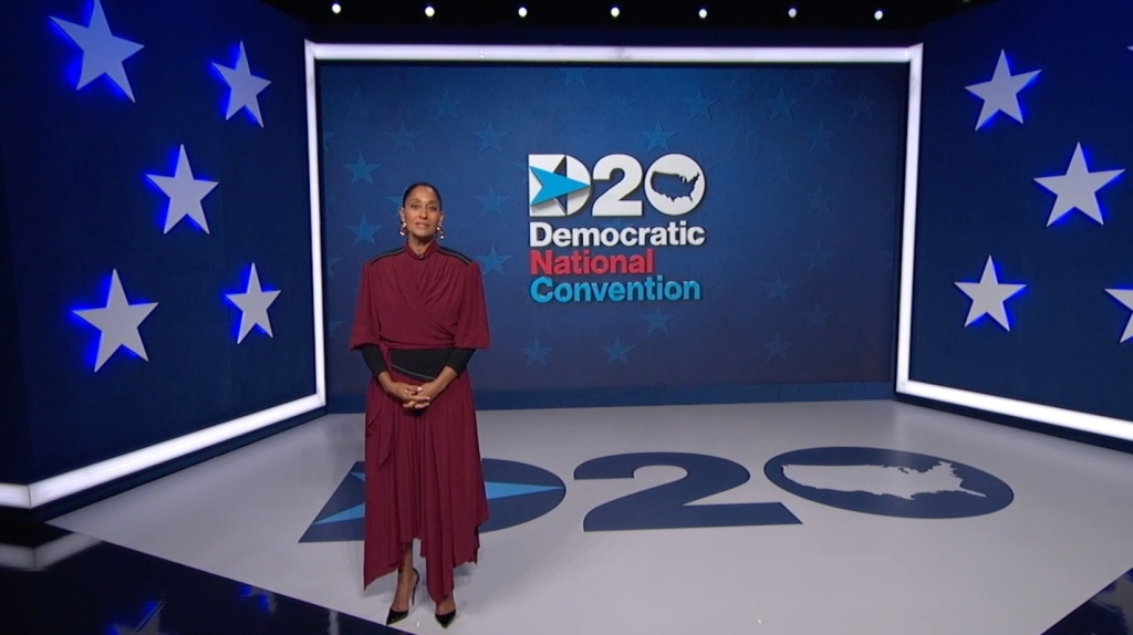 tracee ellis ross, style, proenza schouler, dress, dnc, democratic national convention, host