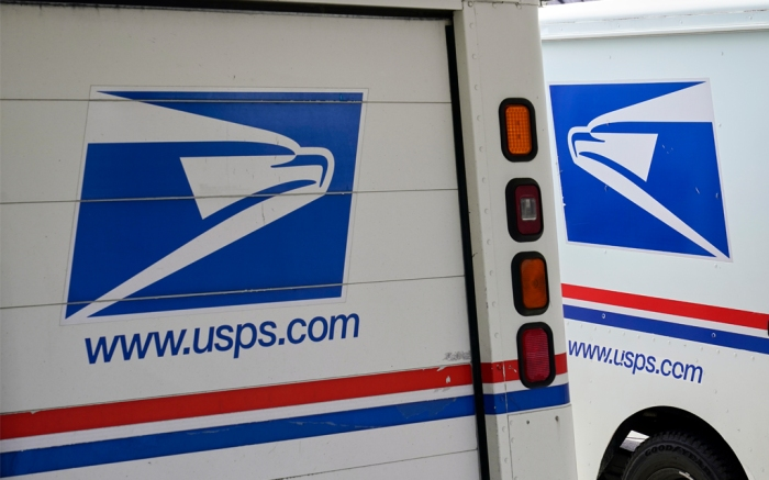 US Postal Service mail delivery trucks