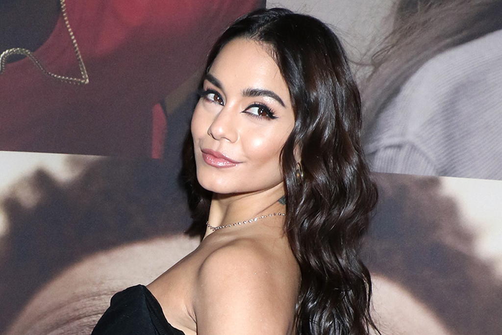 Vanessa Hudgens Elevates Her Lace-Up Top & Pistachio Pants With These Beloved Pumps