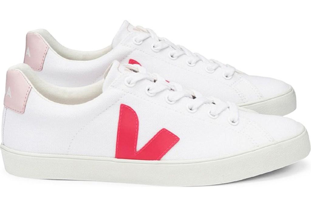 veja sneakers, nordstrom, hot pink sneakers