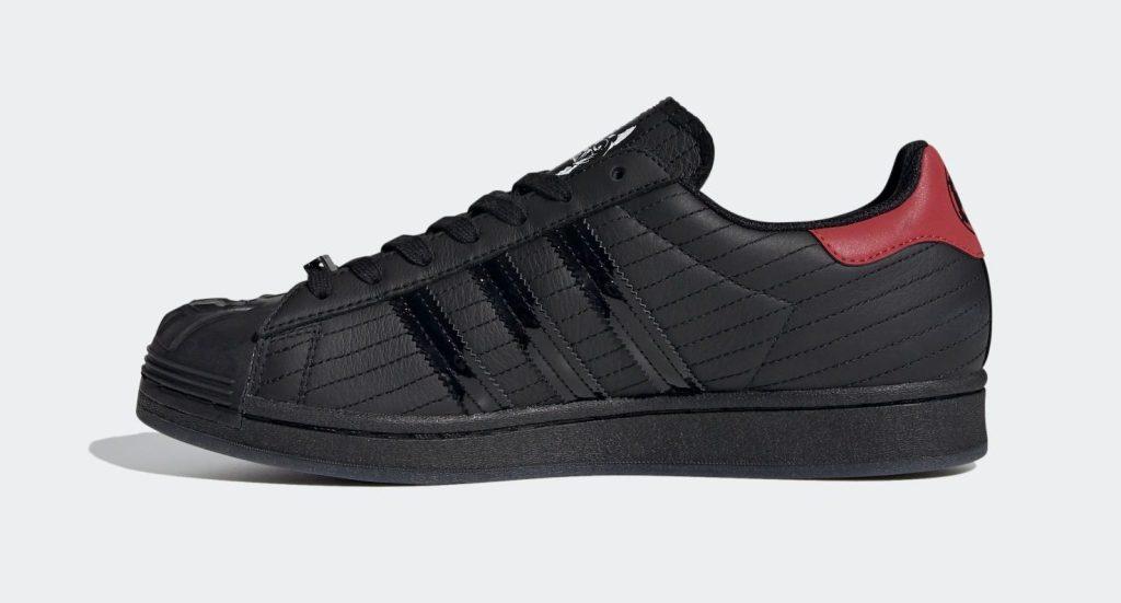 Star Wars x Adidas Superstar 'Darth Vader'