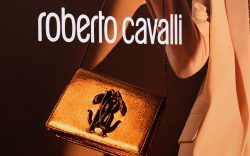 A shop sign of Roberto Cavalli