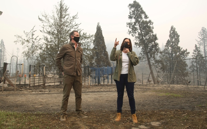 Timberland Christmas 2020 Kamala Harris Wore Timberland Boots to Survey California Wildfires