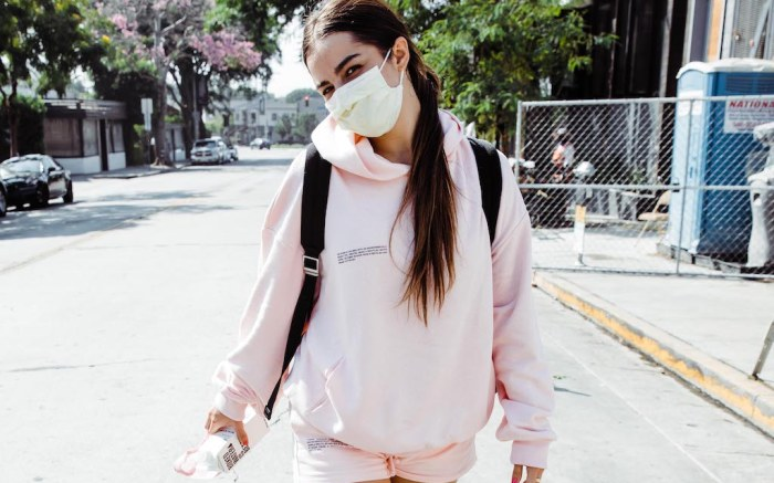 EXCLUSIVE: Addison Rae is spotted leaving a workout at Dogpound who recent made her Ellen Show debut. 25 Sep 2020 Pictured: Addison Rae. Photo credit: iamKevinWong.com / MEGA TheMegaAgency.com +1 888 505 6342 (Mega Agency TagID: MEGA703246_006.jpg) [Photo via Mega Agency]