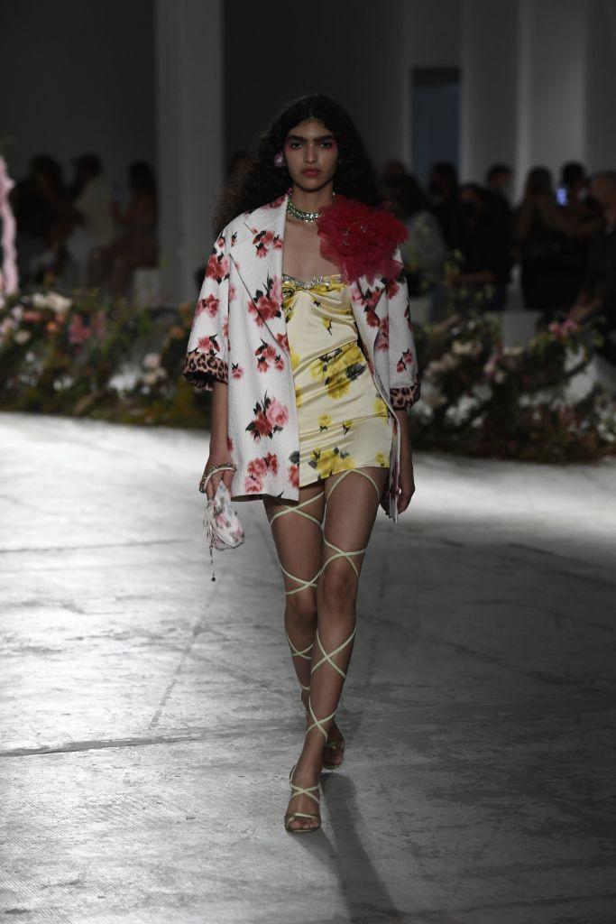 mfw, milan fashion week spring 2021, blumarine, spring 2021 trends