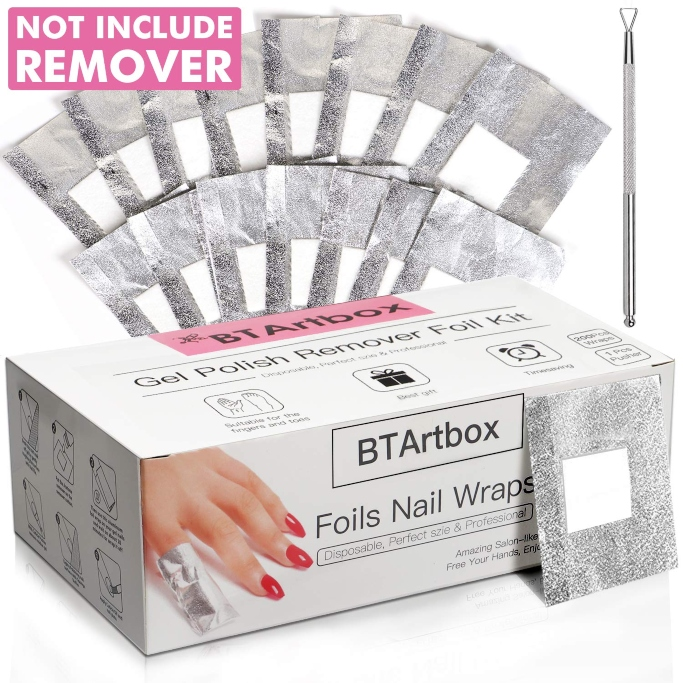 BTArtbox Nail Foil Wraps