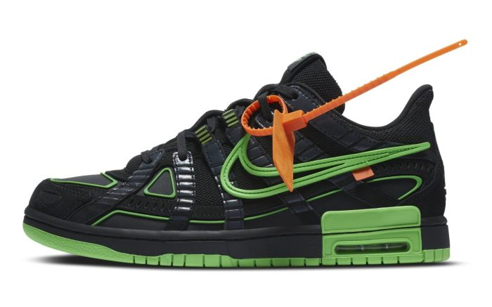 Off-White x Nike Rubber Dunk 'Green Strike'
