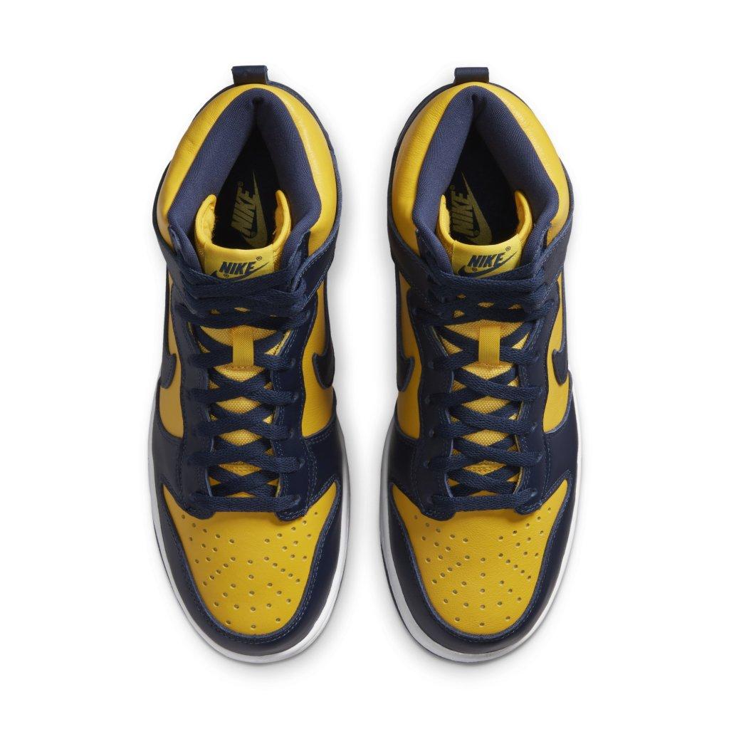 Nike Dunk High 'Michigan'