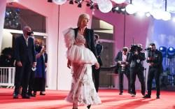 Venezia77 Jury President Cate Blanchett walks