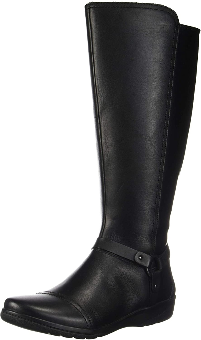 Clarks Cheyn Lindie Wide Calf Knee High Boot