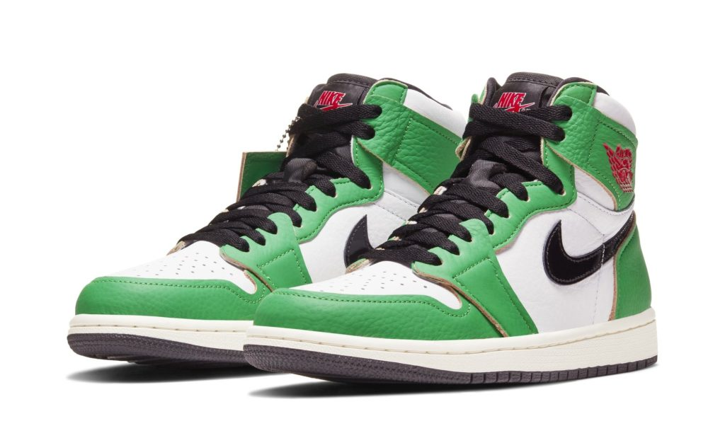 Air Jordan 1 Retro High OG Women's 'Lucky Green'