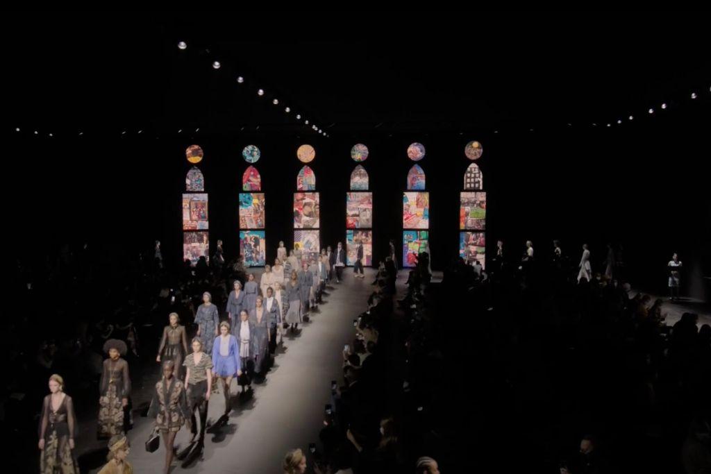 dior, dior spring 2021, spring 2021, pfw, paris fashion week, dior paris fashion week