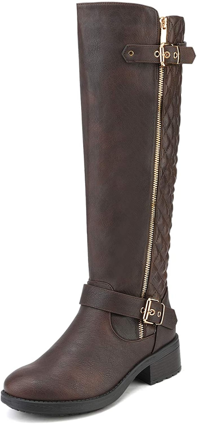 Dream Pairs Knee High Riding Boot