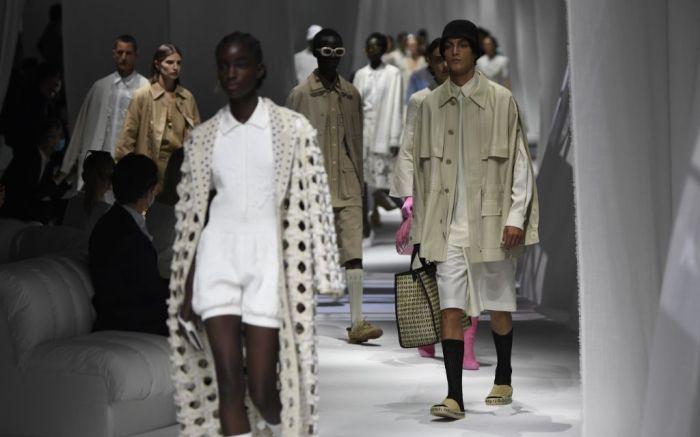 fendi, fendi spring 2021, milan fashion week, mfw, spring 2021 fashion, spring '21