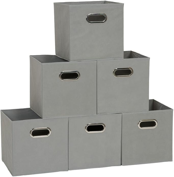 Household Essentials Fabric Storage Bins