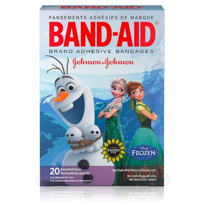 Frozen-Bandages
