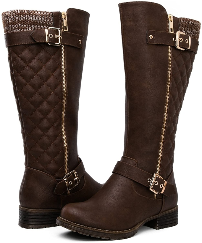 Globalwin Tall Quilted Boots