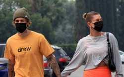 Justin and Hailey Bieber head to