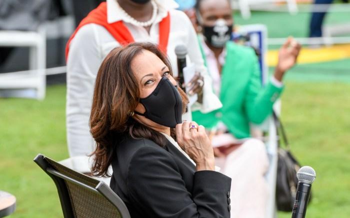 Kamala Harris Campaigns In Philadelphia