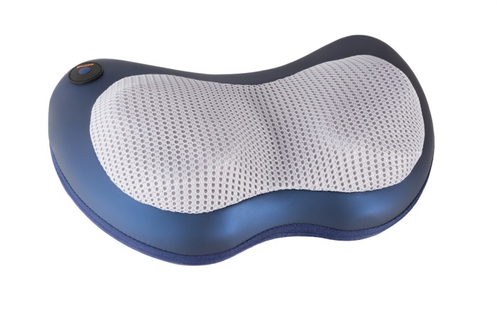 Isolated electric massage pillow with vibration and heating