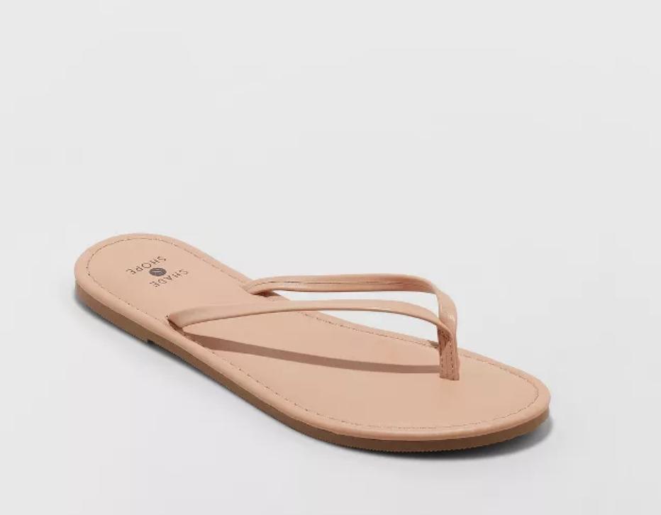 skinny flip flop