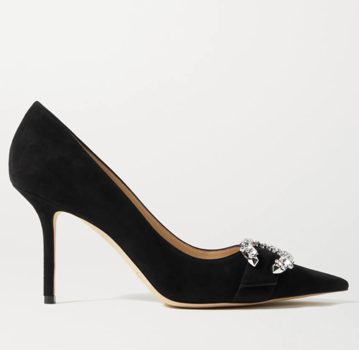 jimmy choo, suede