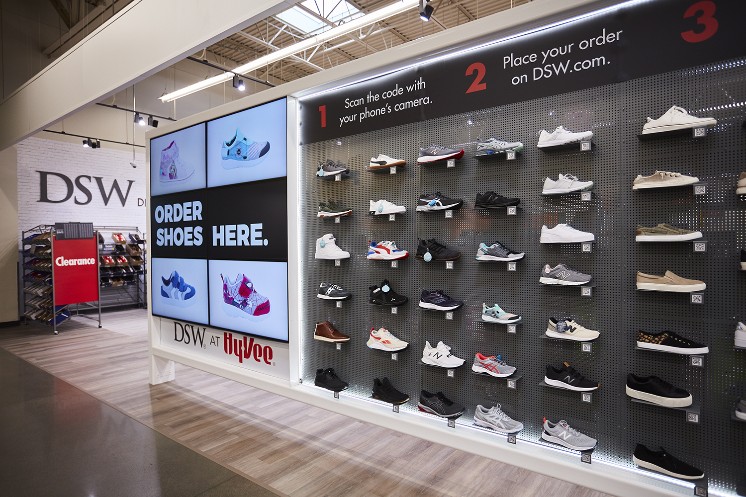 Shoppers Will Soon Be Able to Buy DSW Shoes in Hy-Vee Supermarkets