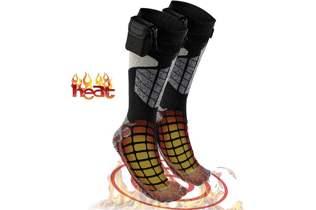 heated socks, amazon socks, electric socks