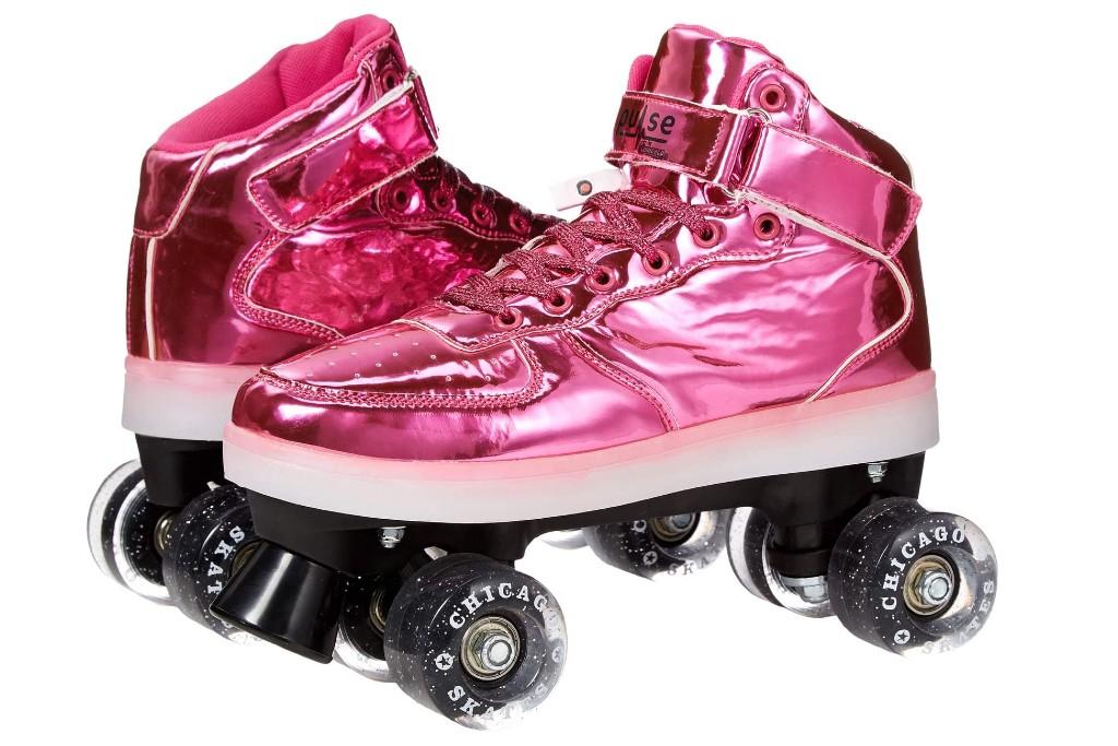 Chicago Skates Pulse Light-Up Quad Skates, girls roller skates