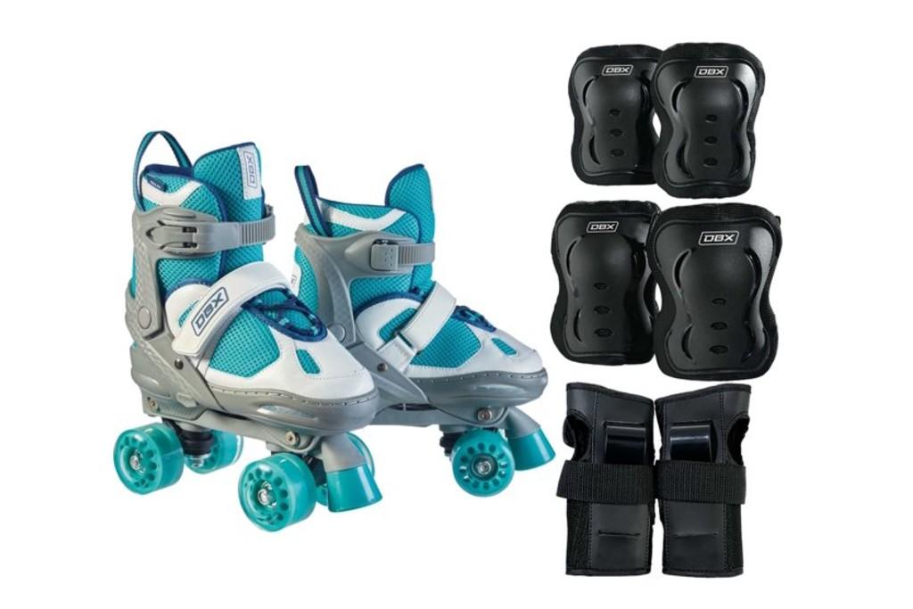 DBX Express Adjustable Roller Skate Package, roller skates for girls