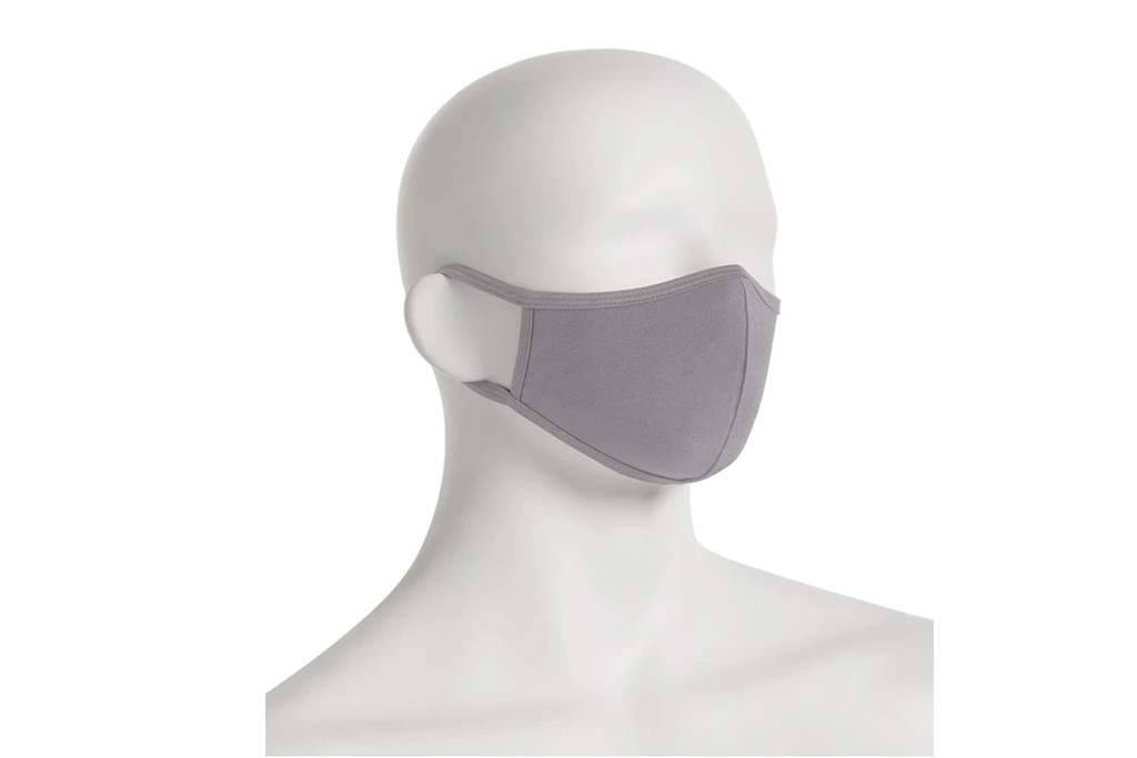 perry ellis fabric face mask, fabric face mask, gray face mask