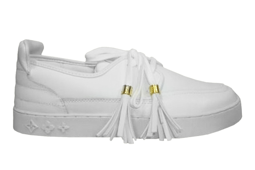 louis vuitton x kanye west mr. hudson, cream mr. hudson, luxury sneaker
