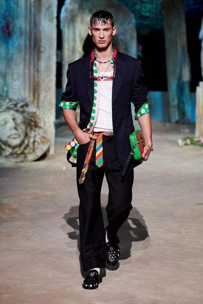 versace, versace spring 2021, spring 2021, mfw, milan fashion week