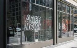 AAPE A Bathing Ape New York