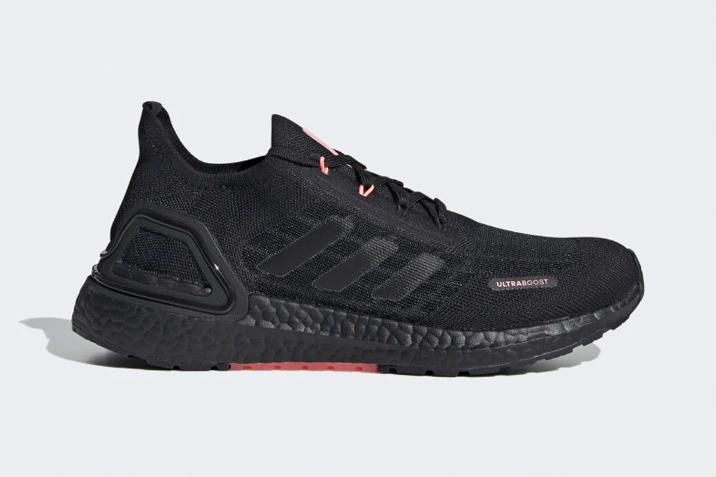 sneakers, black, shoes, running, all black, adidas
