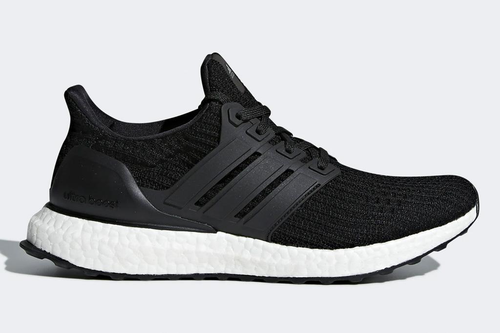 adidas, ultraboost, sneakers, running, black