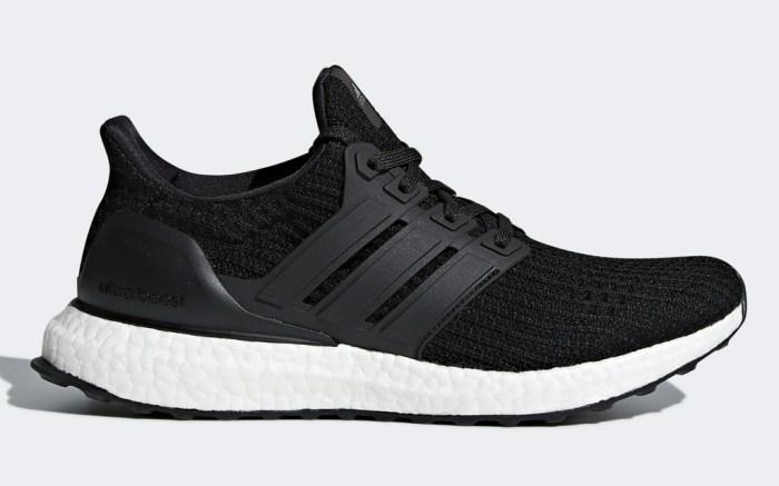 adidas, ultraboost, sneakers, running, black, best