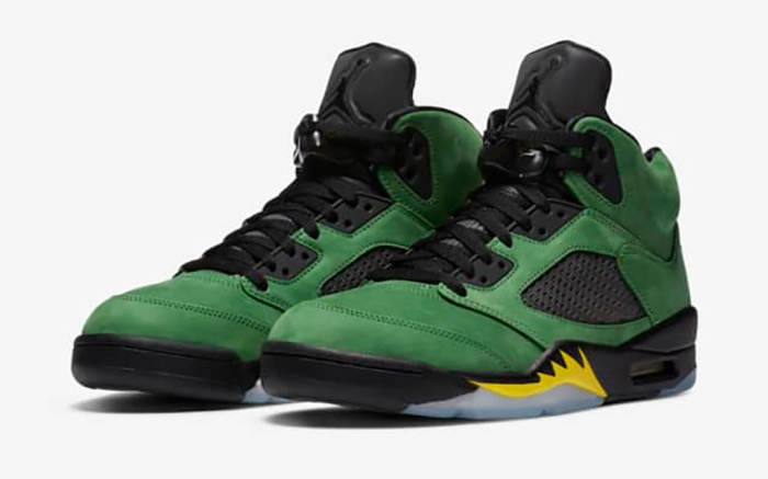 Air Jordan 5 Apple Green