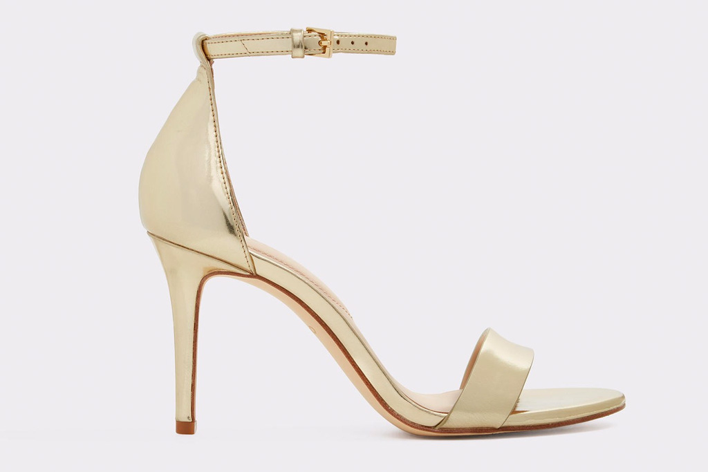 gold sandals, stiletto, gold, heels, aldo
