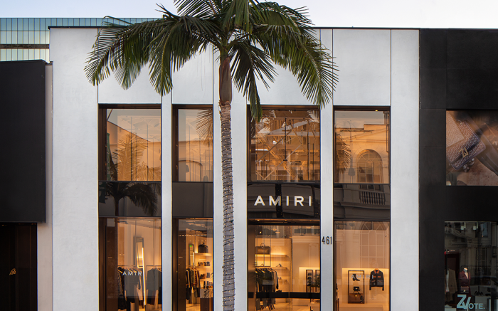 amiri, store, rodeo drive, los angeles