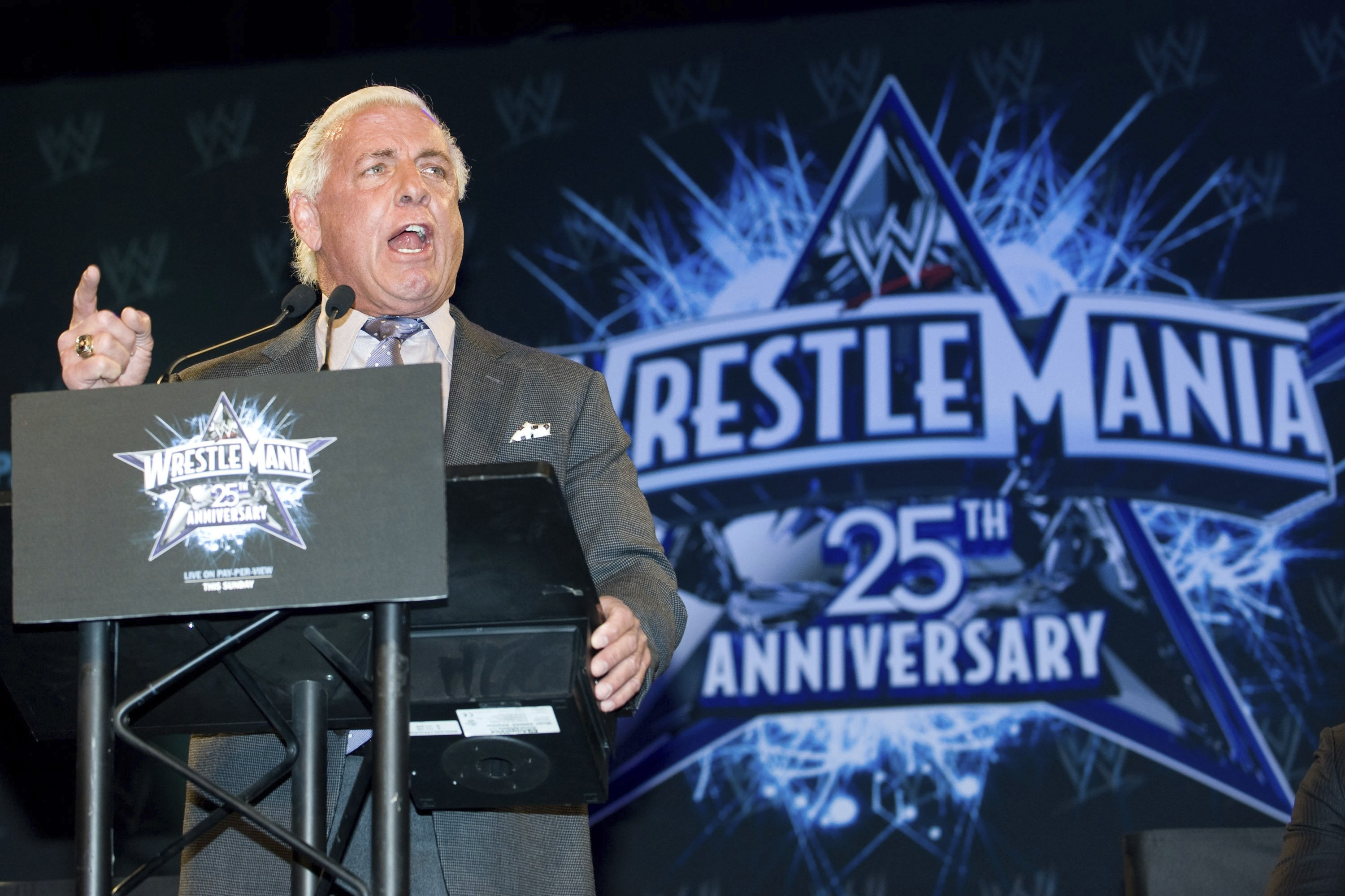 Wrestling Legend Ric Flair's New Adidas Sneaker Is Inspired by His Sparkling Gold Robe