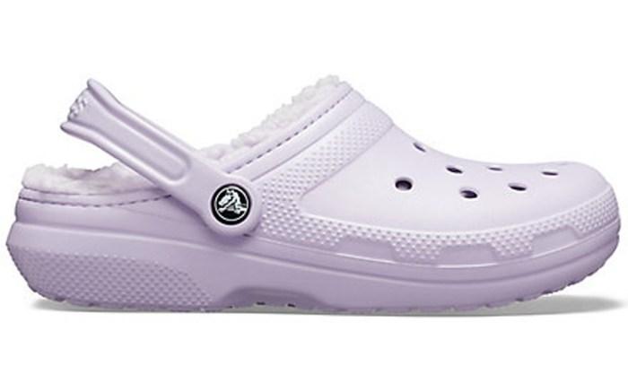 classic lined crocs, best crocs for women, purple crocs