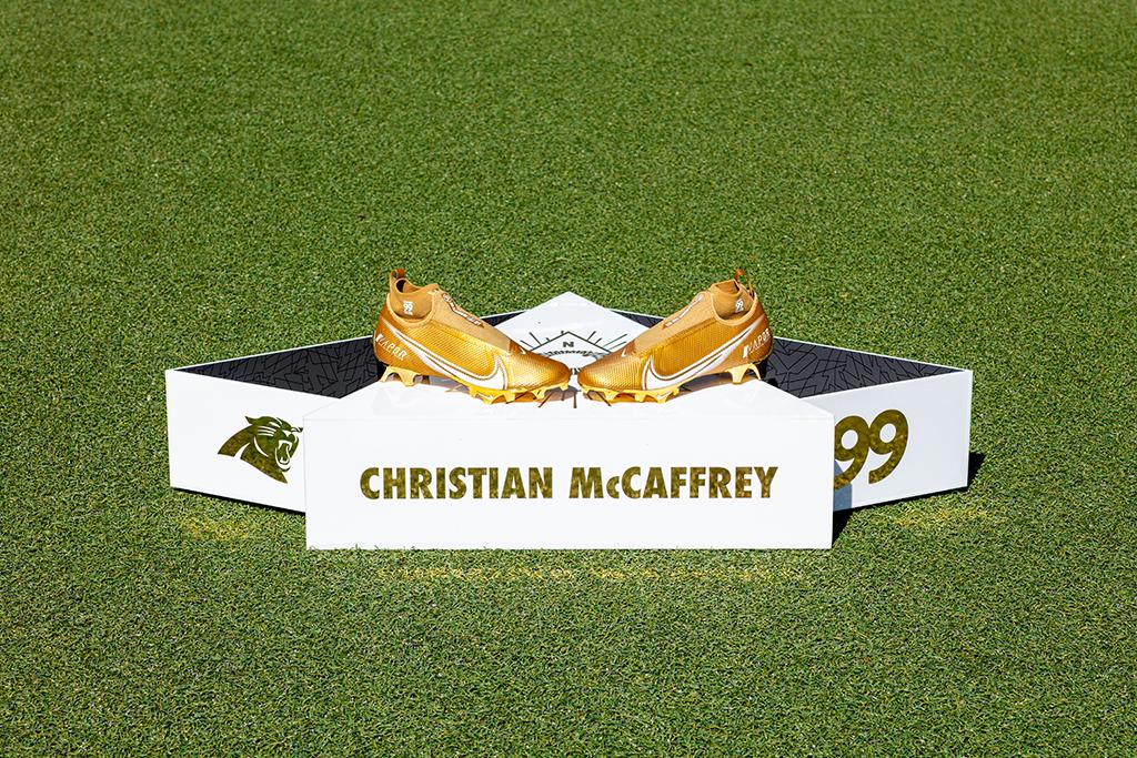 Christian McCaffrey Nike Vapor Edge Pro 4