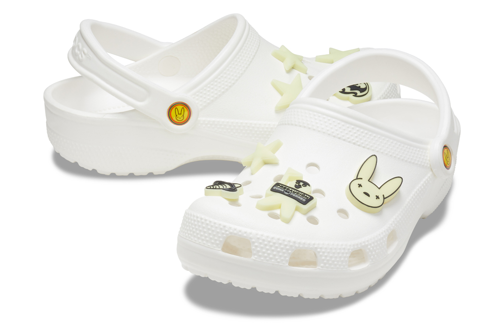 crocs, bad bunny, jibbitz