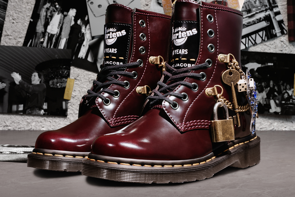 Dr. Martens x Marc Jacobs 1460 Boots Come Covered in Charms & Ankle Chains